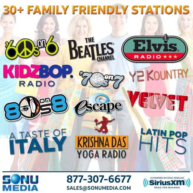 SiriusXM-Music-for-Business-Family-Friendly-Stations