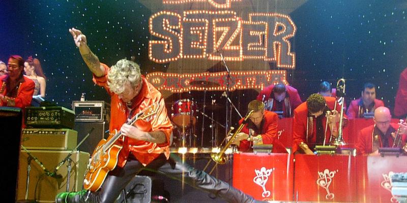 Brian Setzer Orchestra SiriusXM Christmas Rocks Concert