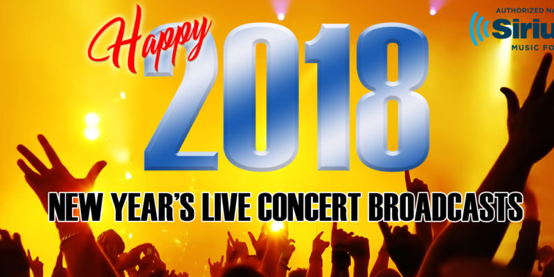 SiriusXM Music for Business New Years Eve Live Concerts