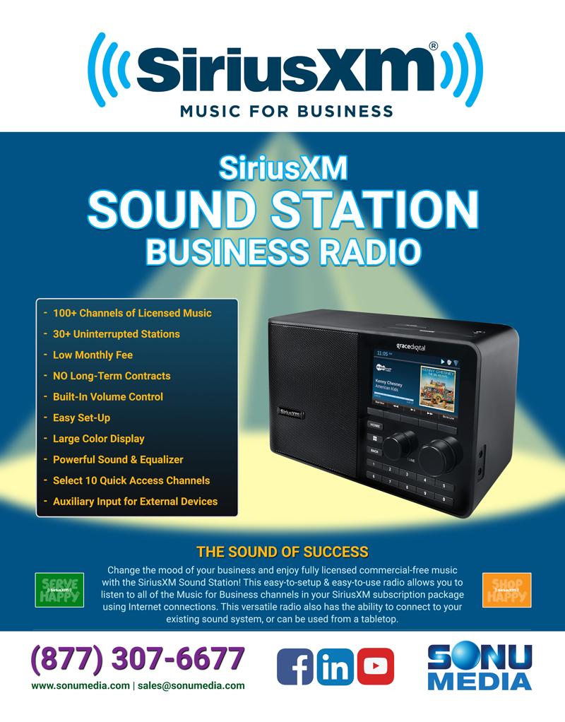 SiriusXM Sound Station Business Radio