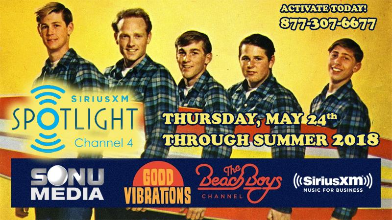 SiriusXM Music for Business The Beach Boys