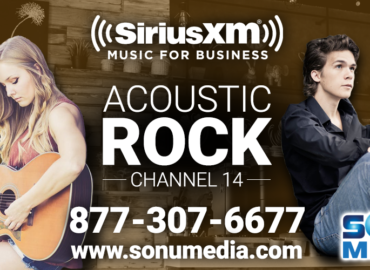 SiriusXM Acoustic Rock Music for Business
