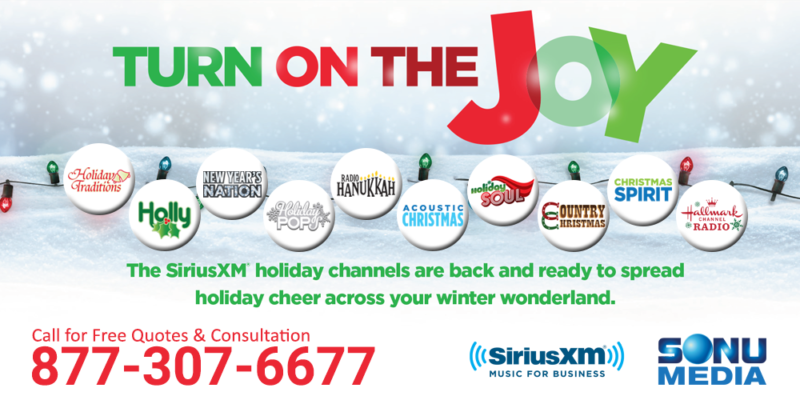 SiriusXM Holiday Channels Archives - SiriusXM Music for Business