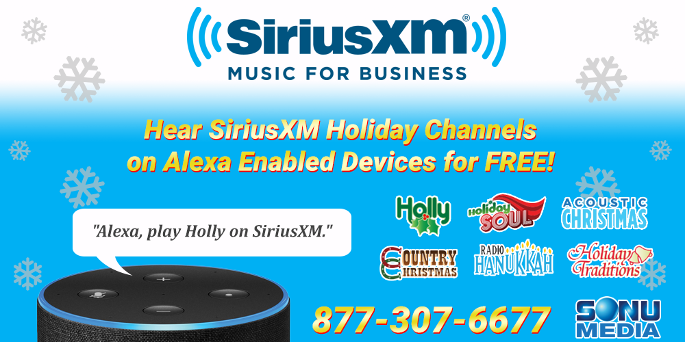 Sirius Xm Christmas.Siriusxm Holiday Music Free For Alexa Enabled Devices