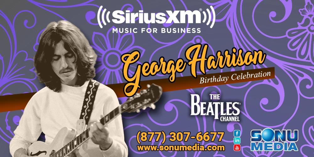 George-Harrison-Birthday-SiriusXM-The-Beatles-Channel-2019