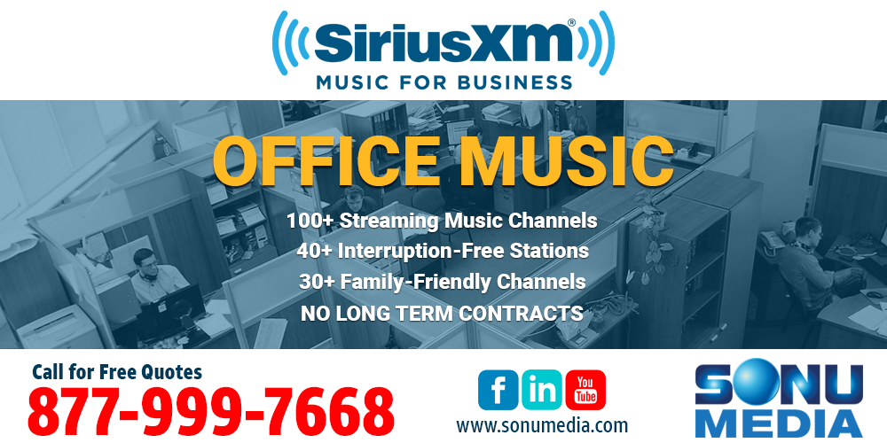 Office-Music-SiriusXM-Music-for-Business-Sonu-Media