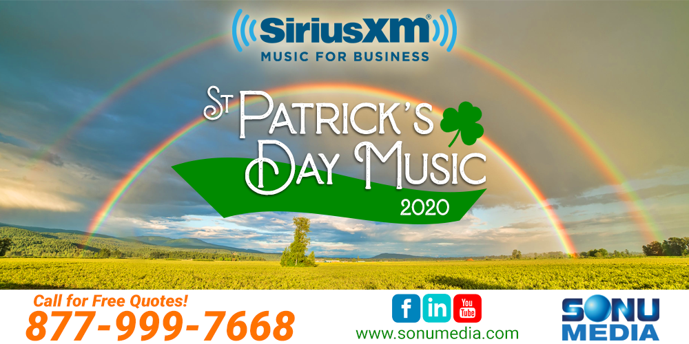 Christmas Music On Siriusxm 2020 SiriusXM Irish Music | St Patrick's Day 2020 | Music for Business